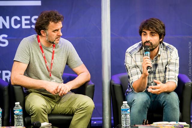 Fabrice Arfi, journaliste de Médiapart au #OFF17