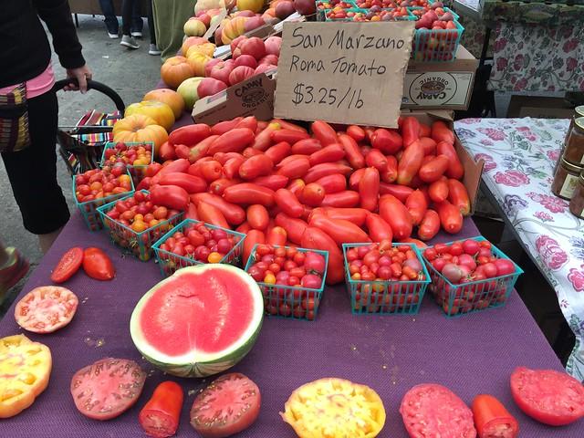 Huge San Marzano Tomatoes