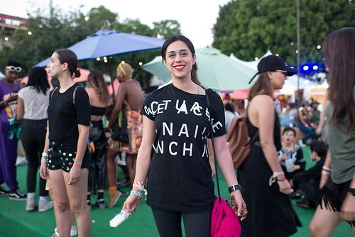 Nine Inch Nails Shirts at FYF Fest