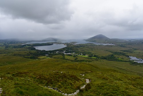 Hike Diamond Hill @ Connemara National Park
