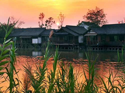 Xixi Wetland Park. From Visiting Marco Polo's Favorite City in China