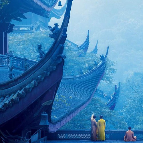 Lingyin Temple. From Visiting Marco Polo's Favorite City in China