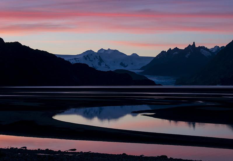 Lago Grey Sunset