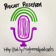 Do you listen to a podcast for professional learning & development in #highered?
