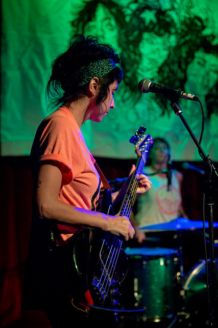 The Coathangers (with The Residuels and The Maness Brothers)  at Off Broadway, July 20, 2017