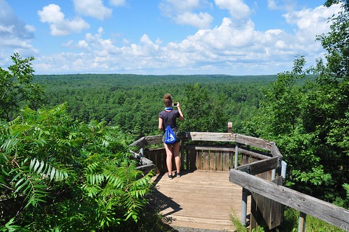 View at the Cliff Top Trail, Bon Echo