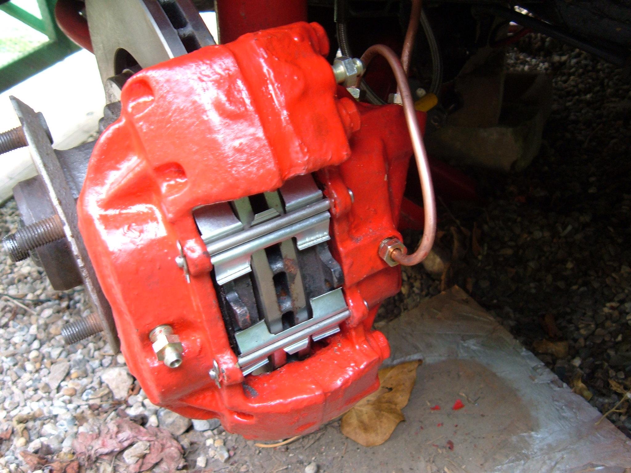 Brake bleeding - The Ford Capri Laser Page