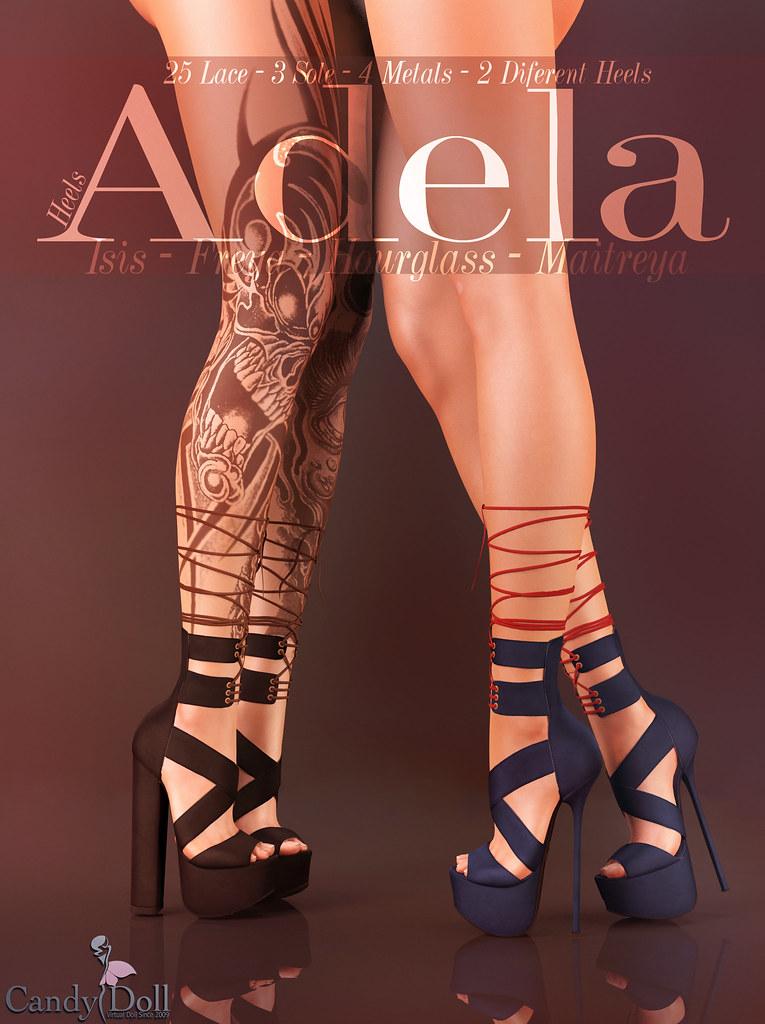Adela Heels - SecondLifeHub.com