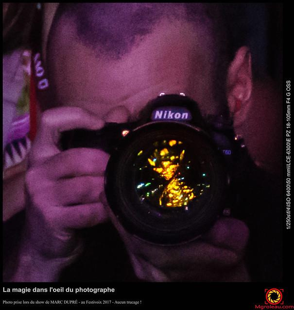 La magie dans l'oeil du photographe
