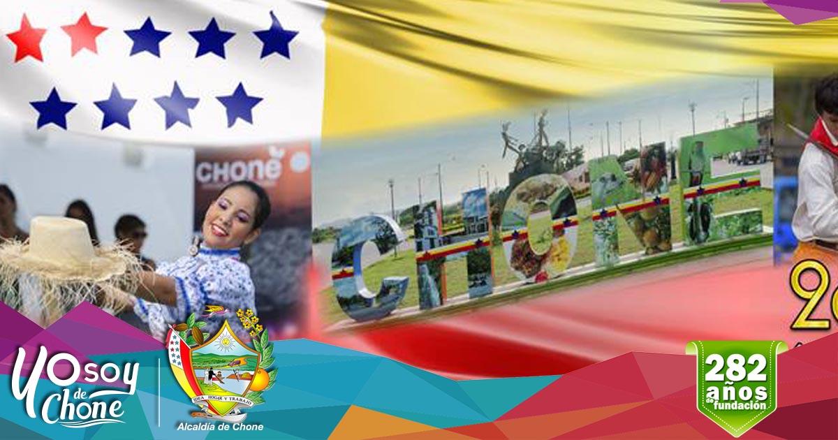 Alcaldía de Chone realizará actos cívicos conmemorativos en aniversario de fundación