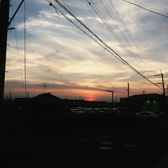 thanks for today! #sunset #nara #japan #奈良