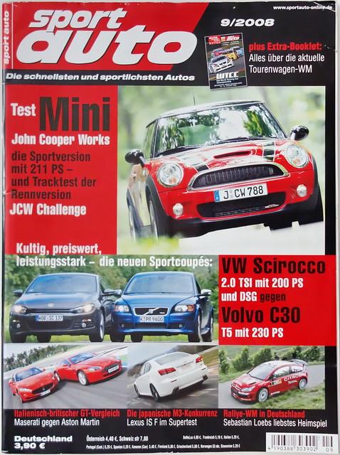 sport auto - 2008-09 - cover
