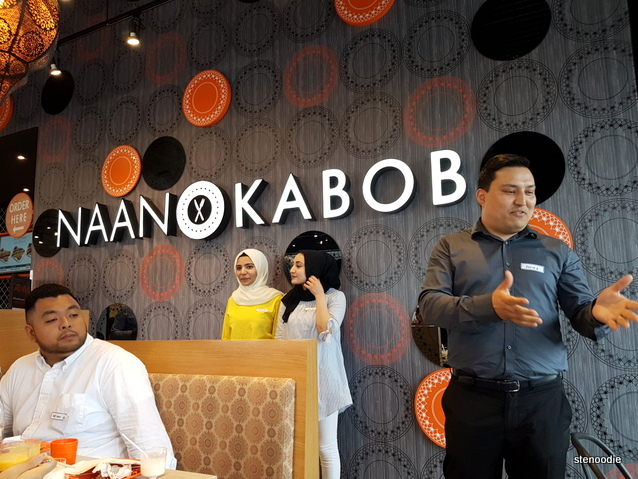 Naan & Kabob tasting event