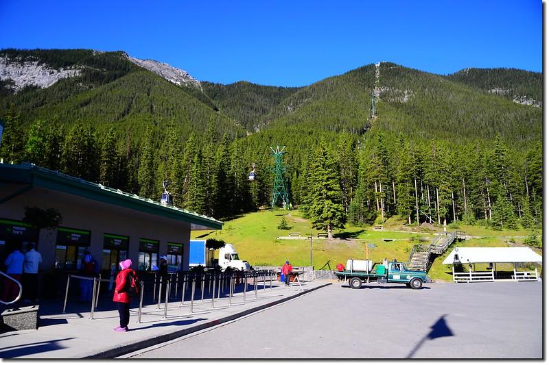 Banff Gondola Lower terminal 2
