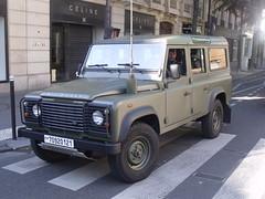 Land Rover Defender de l'Armée de l'Air.