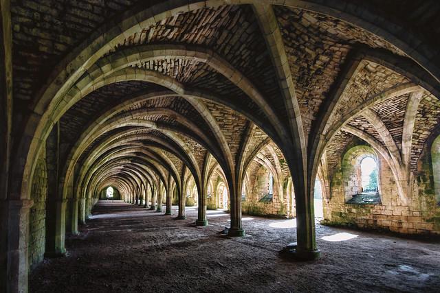 The Cellarium, Fountains Abbey, Sony SLT-A77V, Sigma AF 10-20mm F4-5.6 EX DC