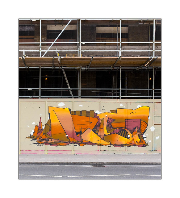 Street Art (Neist), East London, England.