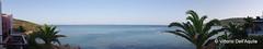 Vista della Turchia dall'Erytha Hotel - Chios
