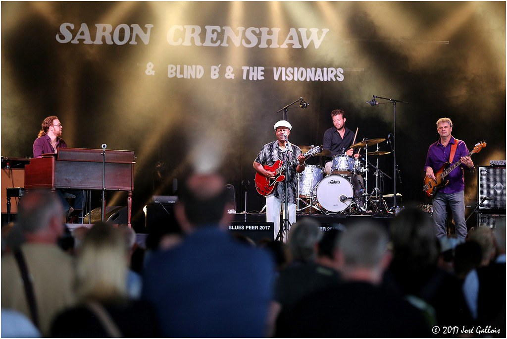 SaRon Crenshaw & Blind B & the Visionairs