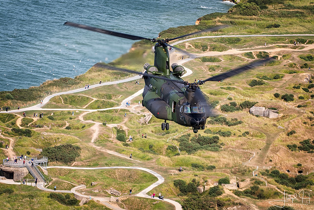 RCAF 450 Tactical Helicopter Squadron CH-147F