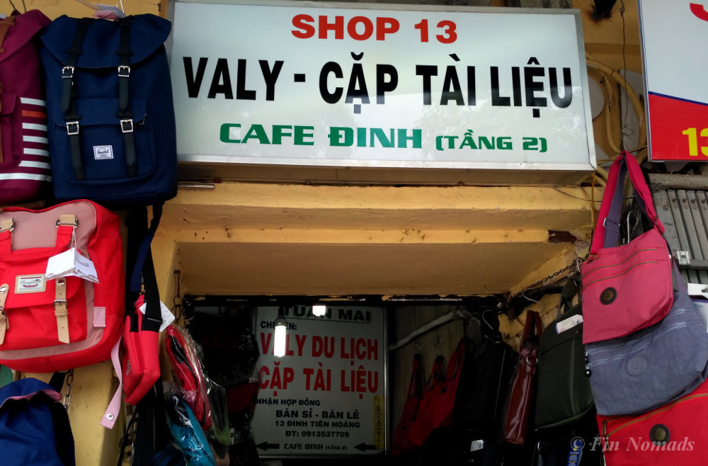 Cafe dinh hanoi
