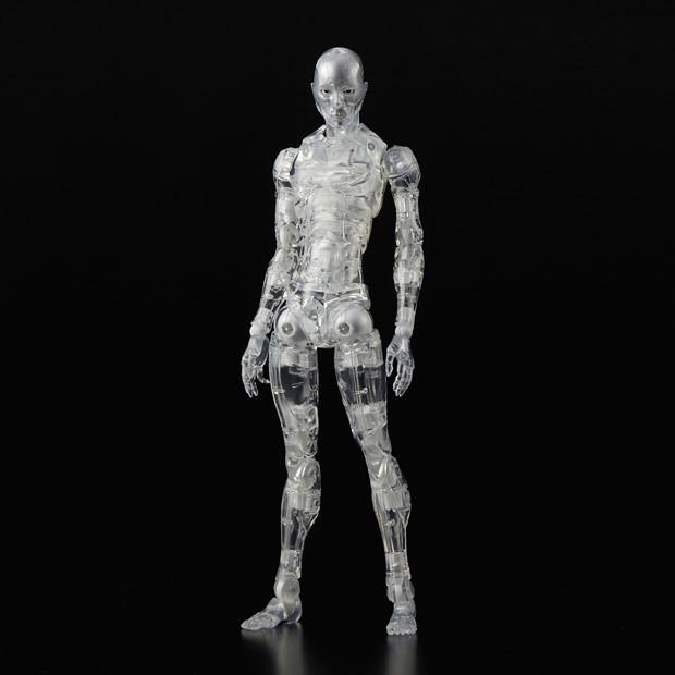 【WF2017S限定】1000toys 東亞重工製 合成人間 CLEAR 透明版