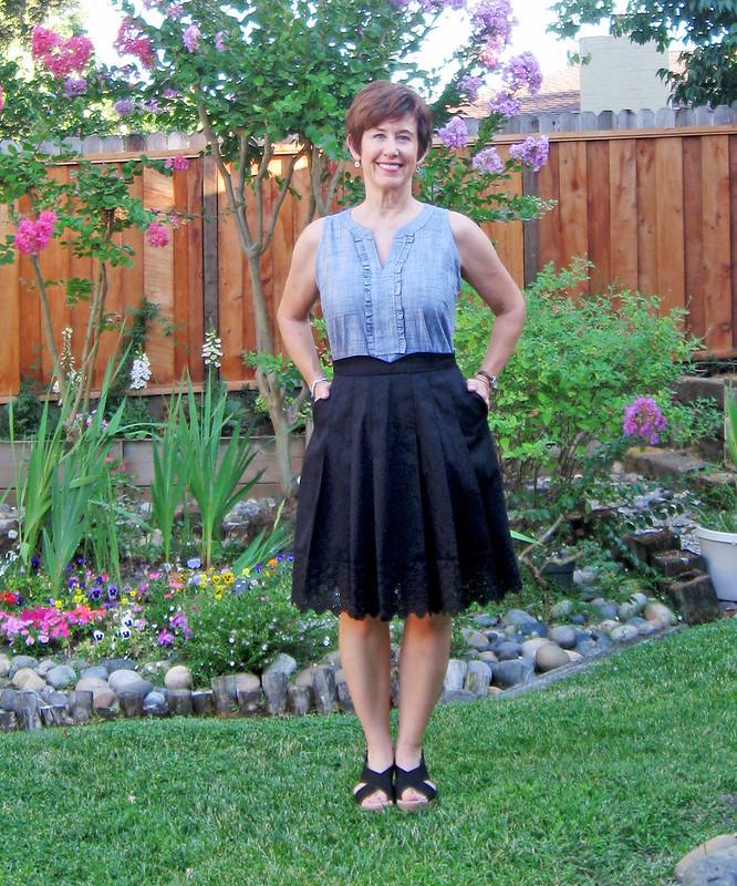 b4c1e656a3 SunnyGal Studio Sewing: Mirambell Skirt from Pauline Alice Patterns