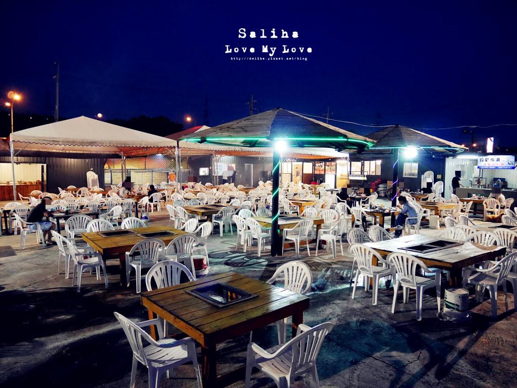 台中沙鹿區夜景餐廳推薦蠔膽你來露天燒烤吃到飽 (14)