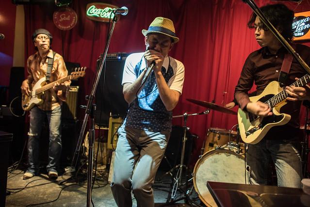 the AstroBluenauts live at Terraplane, Tokyo, 28 Jul 2017 -00271