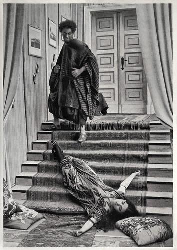 Emil Jannings and Pola Negri in Die Augen der Mumie Ma (1918)