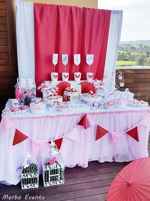 Mesa dulce comunión niña roa Merbo Events