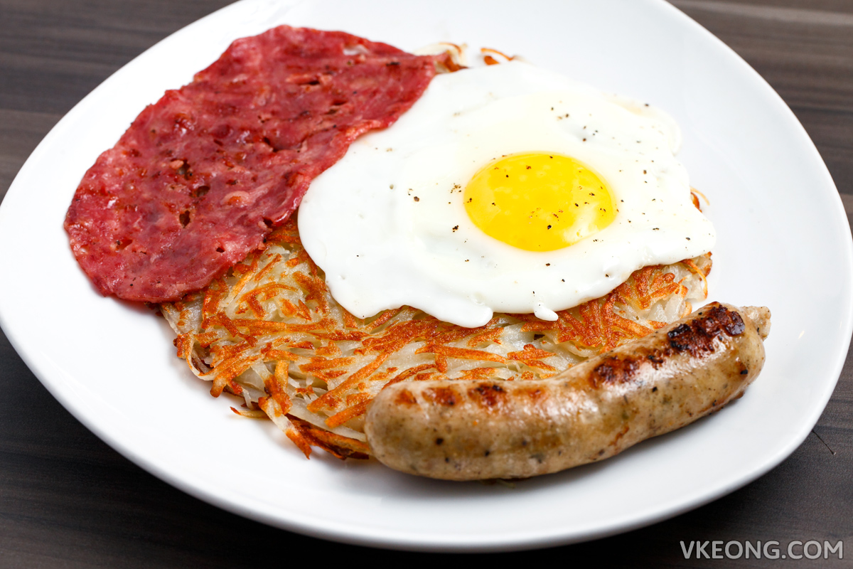 The Establishment Roesti with Sausage and Bacon