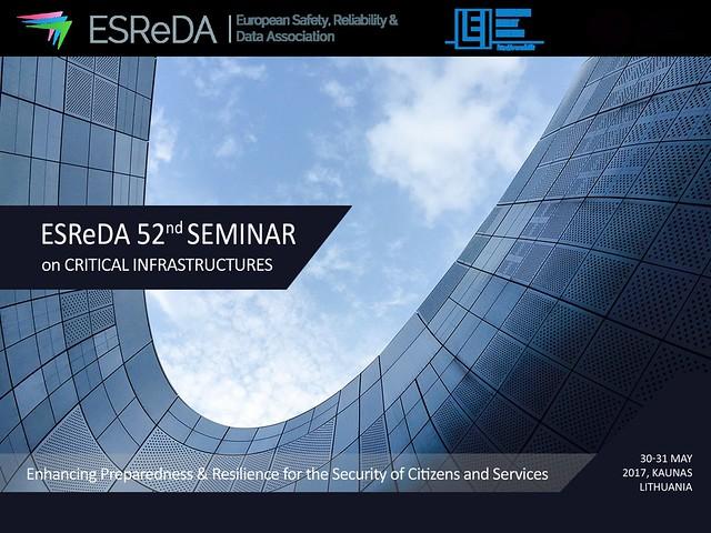 ESReDA 52nd Seminar