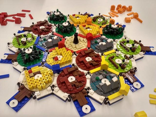 Work in Progress: LEGO Catan