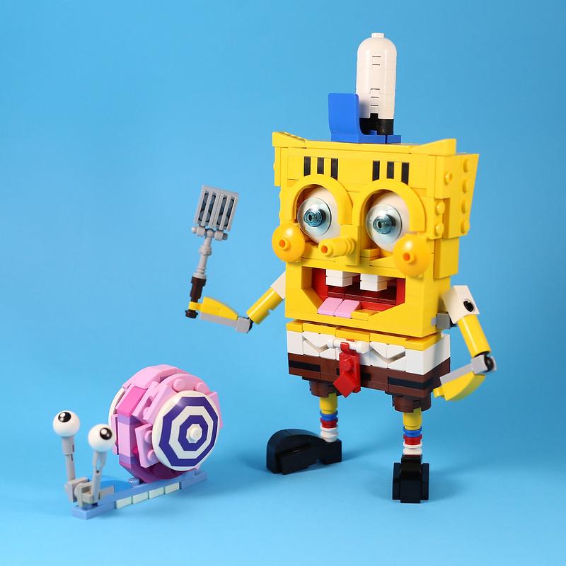 [MOC分享] SpongeBob 海綿寶寶