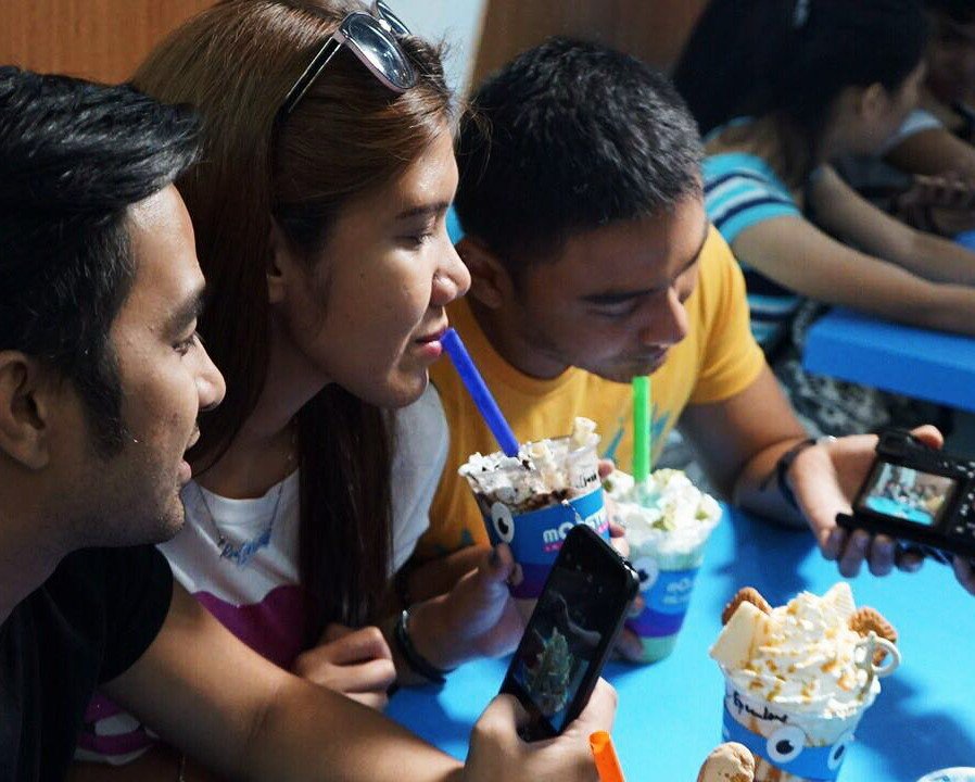 New Monster in Manila | Monster Milkshake, Vertis North