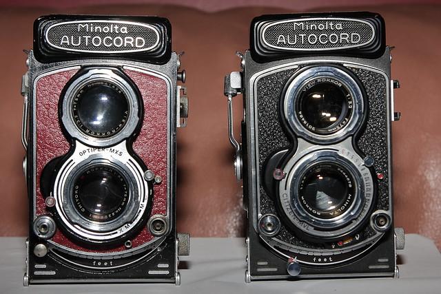 Minolta Autocords models Version, Canon EOS 40D, Tamron AF 17-50mm f/2.8 Di-II LD Aspherical