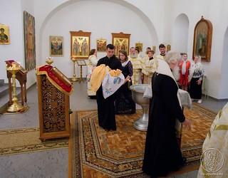 Литургия в Спасском соборе 210