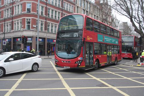 Go-Ahead London WVL293 LX59CZL