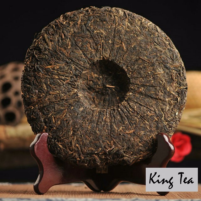 Free Shipping 2005 XiaGuan 8613 Beeng Cake 357g China YunNan Chinese Puer Puerh Raw Tea Sheng Cha Weight Loss Slim Beauty