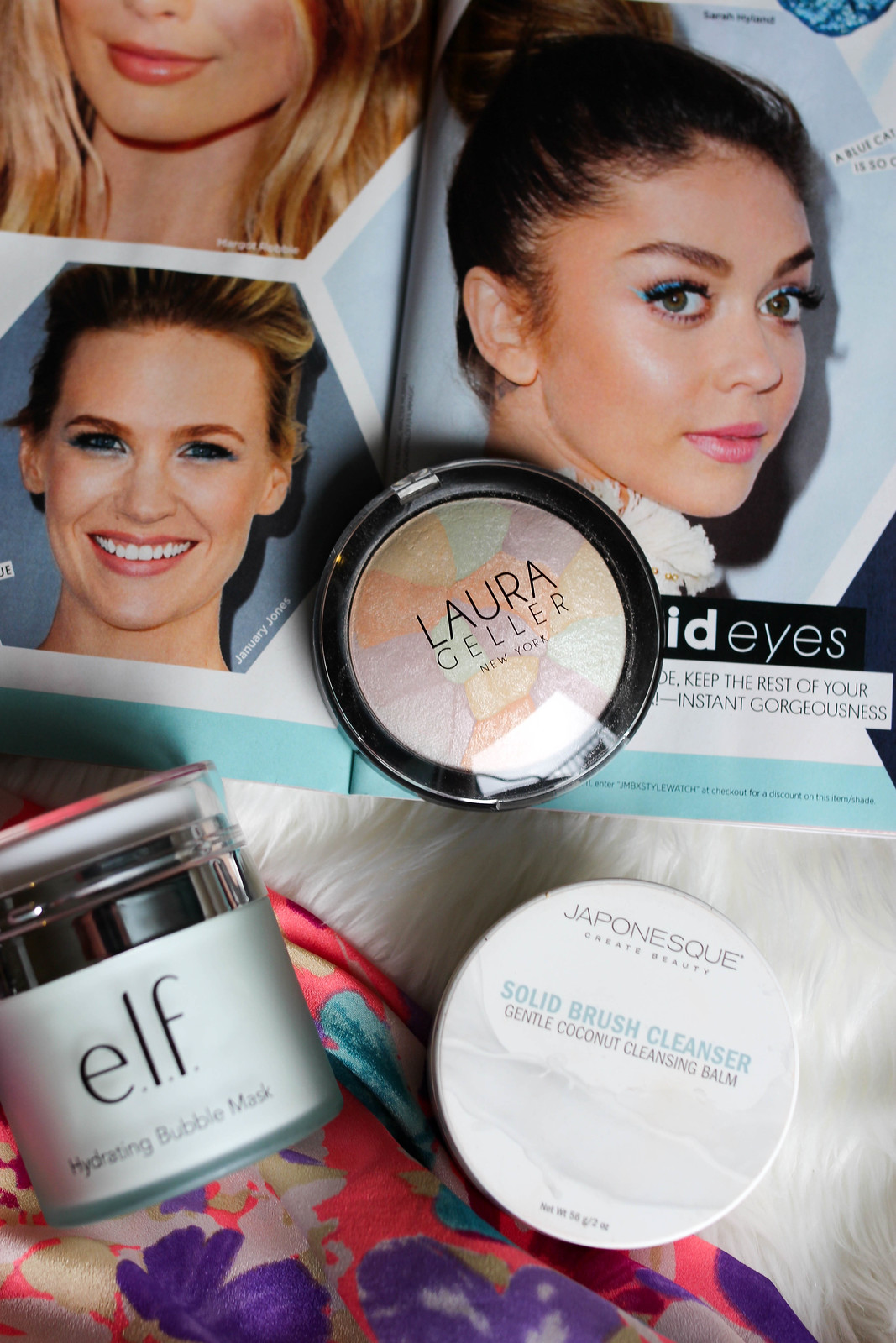 My July Beauty Essentials on Living After Midnite Laura Geller Filter Finish Setting Powder