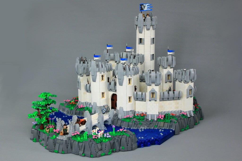Minas Morgul: Heroic Rendition (custom built Lego model)