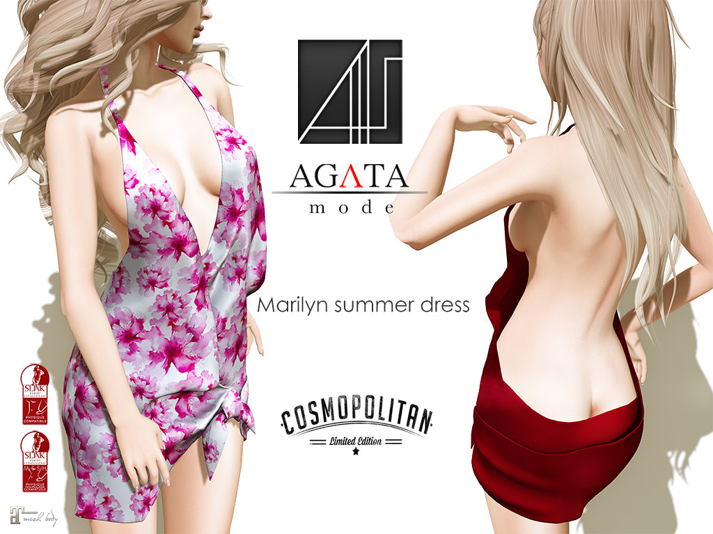 Marilyn summer dress @ cosmopolitan - SecondLifeHub.com