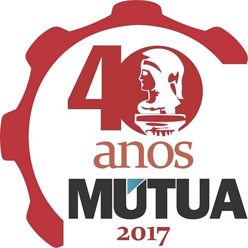 logotipo 40 anos