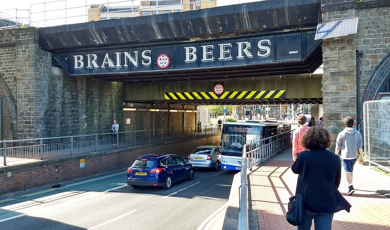 Brains Beers advertising, Cardiff