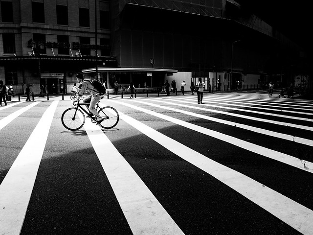 .ride in the light.