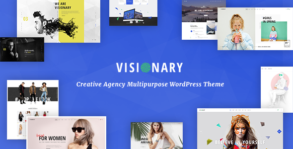 Visionary v1.4.3 - Creative Agency Multipurpose WordPress Theme