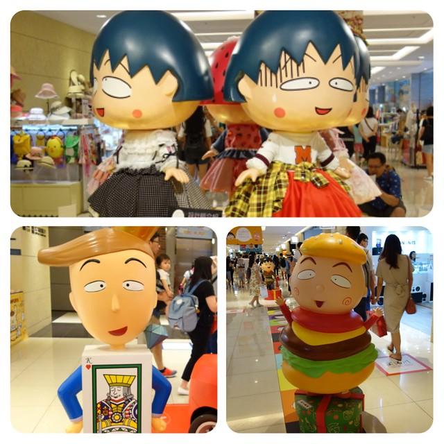 2017暑假賣場有櫻桃小丸子@大阪來的Izumi Curry南港CITYLINK店