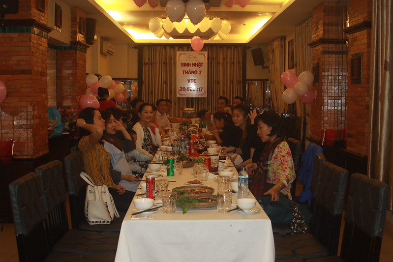 Ảnh Tiệc Chúc Mừng Sinh Nhật Tháng 7 VTC
