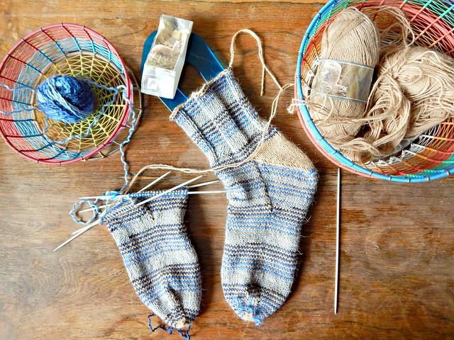 носки - полтора | one and half socks
